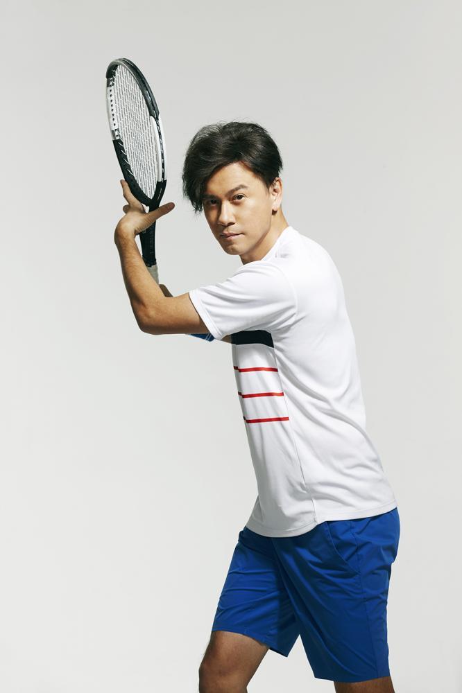 李聖傑曾經是網球選手。