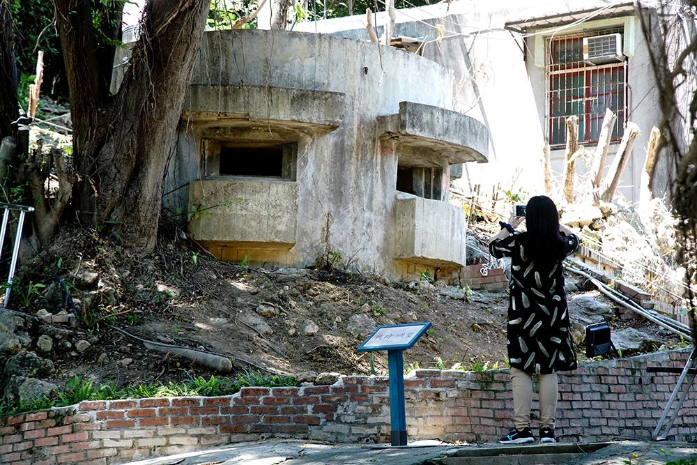 鼓山洞是高雄市政府選定的第一個軍事遺址觀光據點。