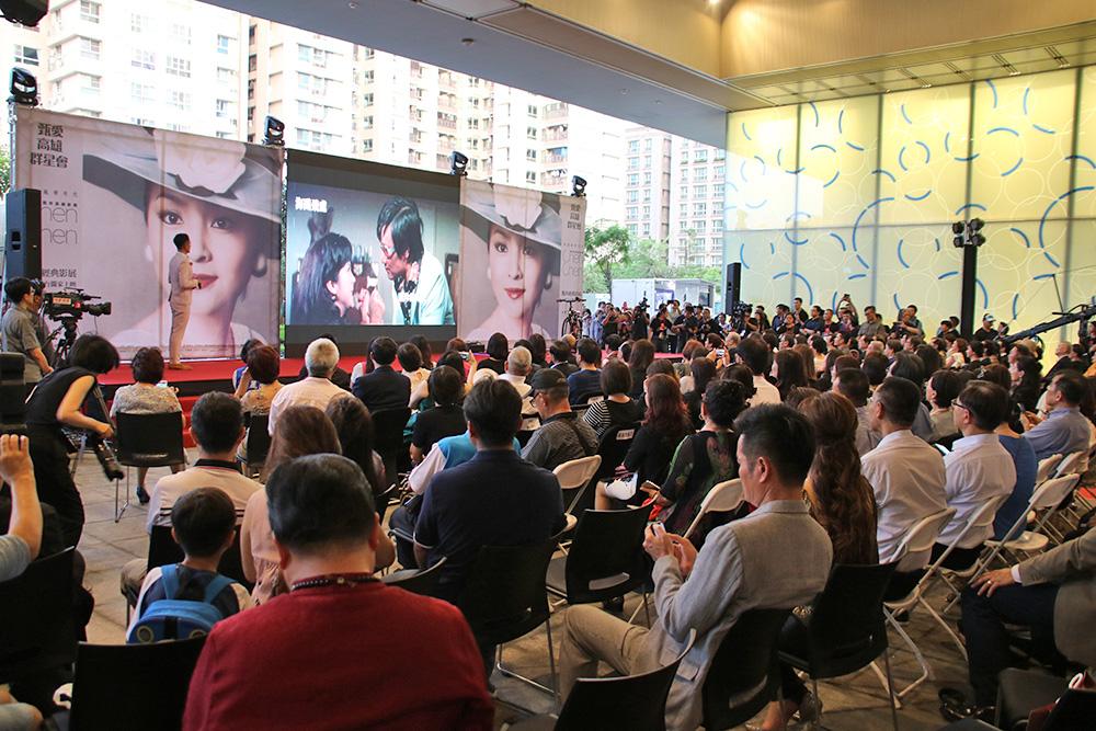 「甄珍高雄影展」開幕典禮。