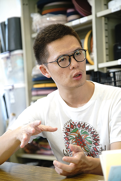 杉林布包專案管理人吳峰智。