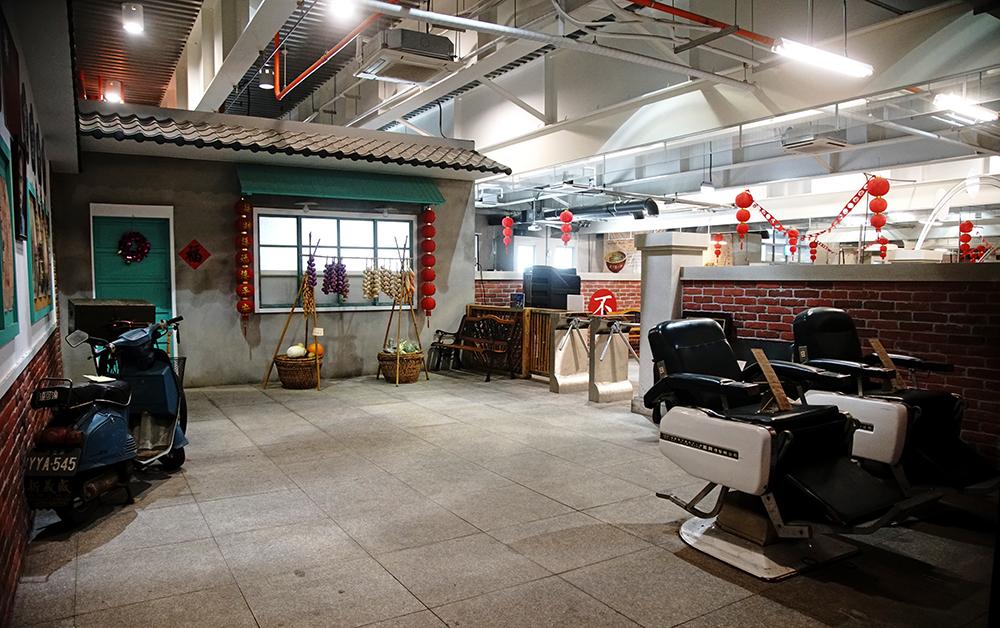 眷村文化館呈現早期岡山眷村生活點滴。