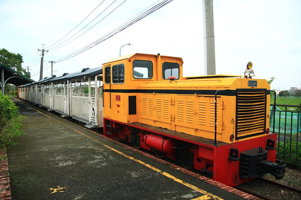 橋頭糖廠觀光小火車。