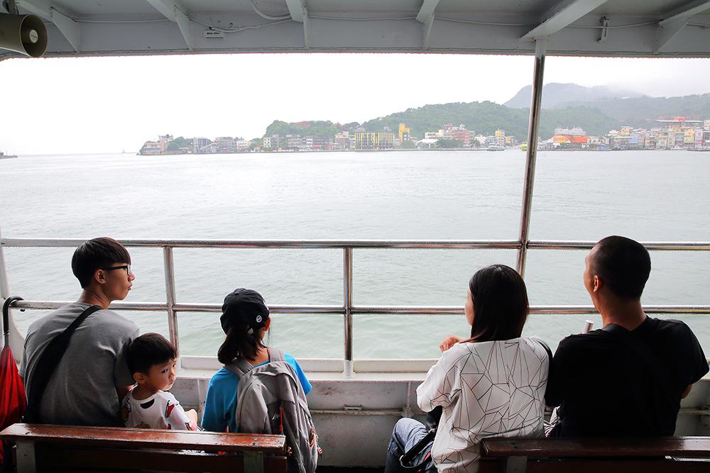 海上的風景是旅人們最想捕捉的一景。