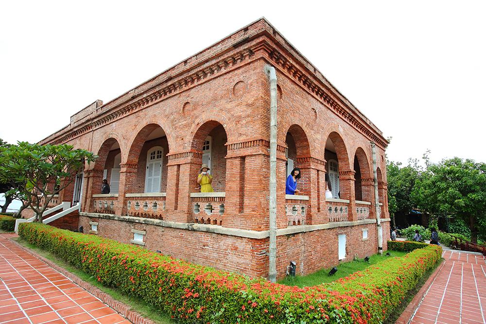 興建於1879年的英國領事館在山上的官邸。