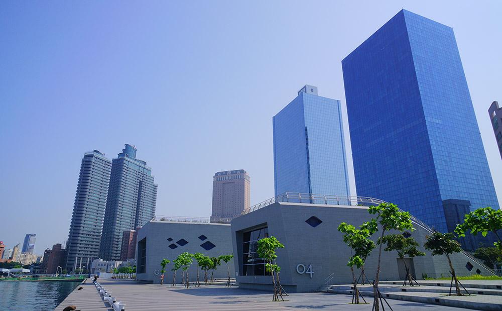 高雄海洋文化及流行音樂中心。