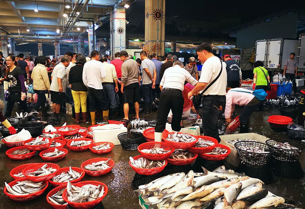 高雄最大的漁市在前鎮。