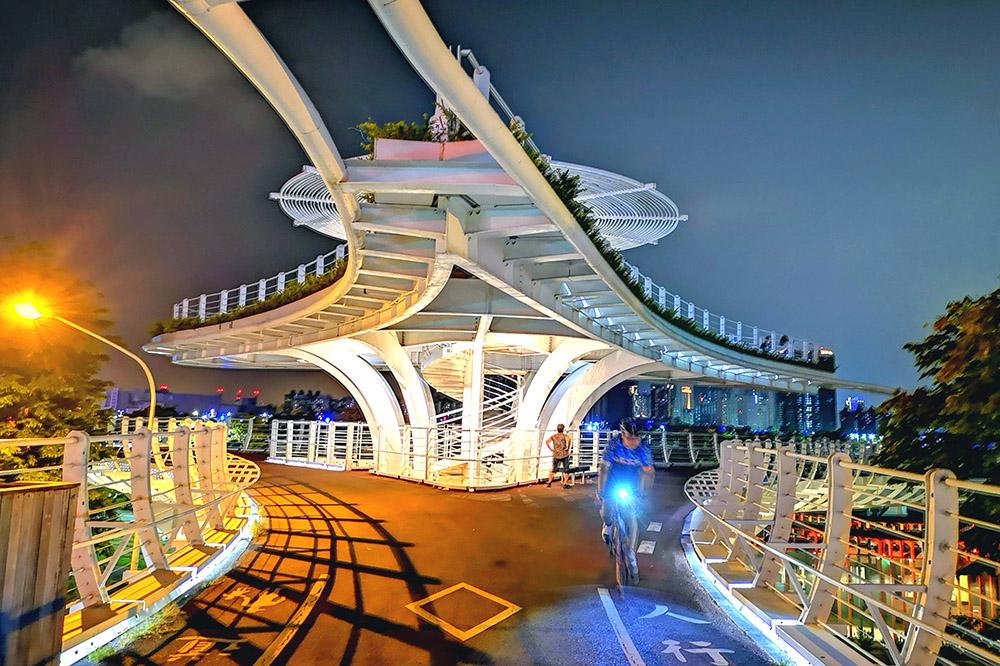 前鎮自行車橋。