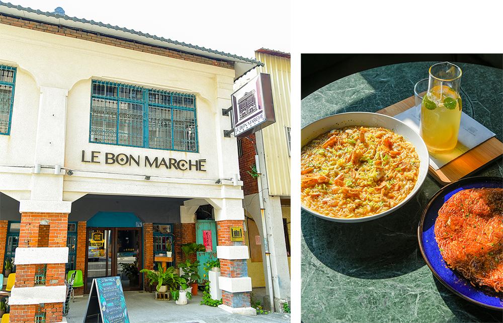 道地的南歐與地中海傳統料理:Le Bon Marché 好市集。