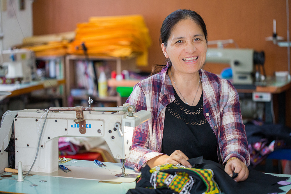 族服裁縫巧手UMAV。