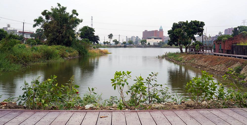 鴨寮村風景。