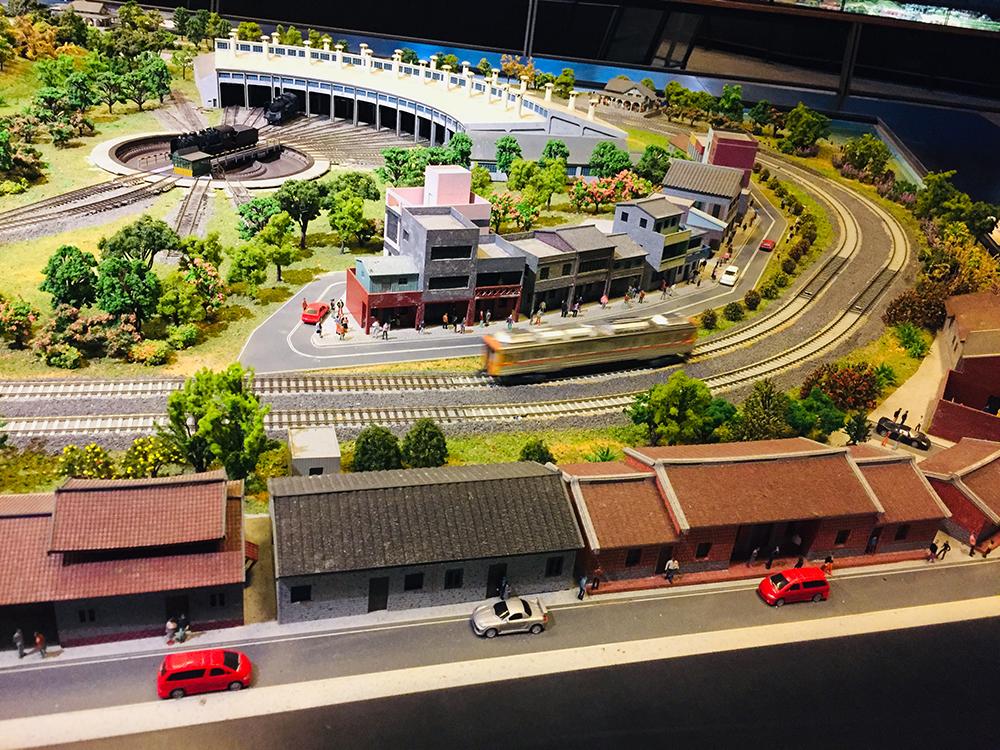 彰化扇形車庫是日治時期留下至今,為臺灣唯一保存的扇形車庫。