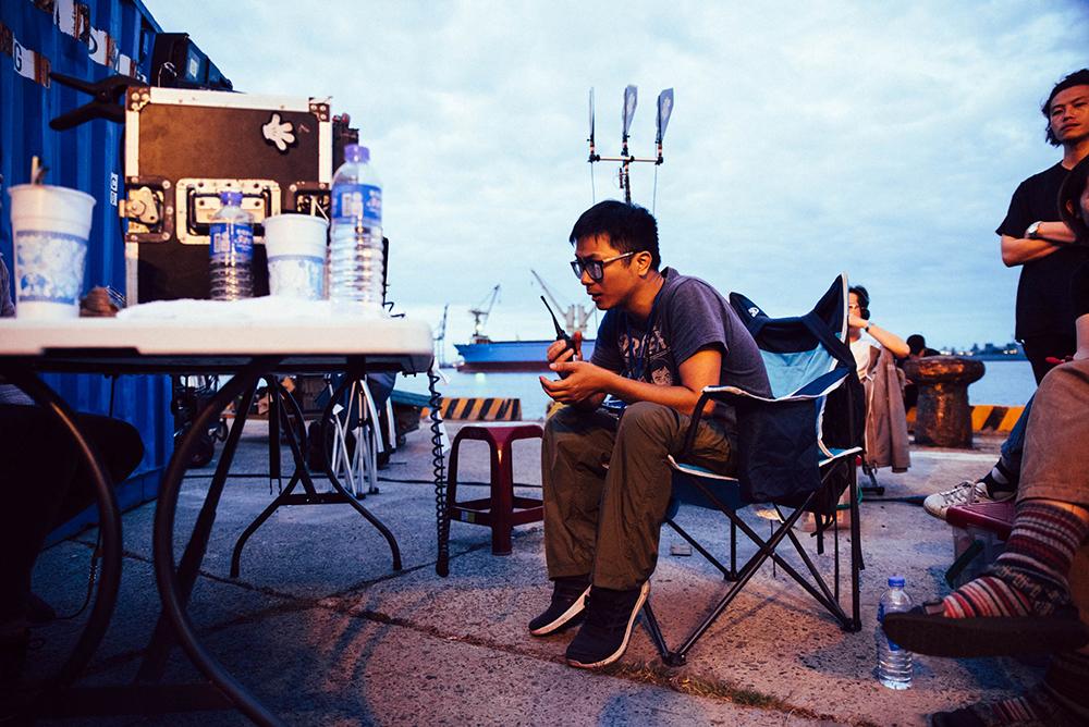 《江湖無難事》在高雄四號碼頭取景。