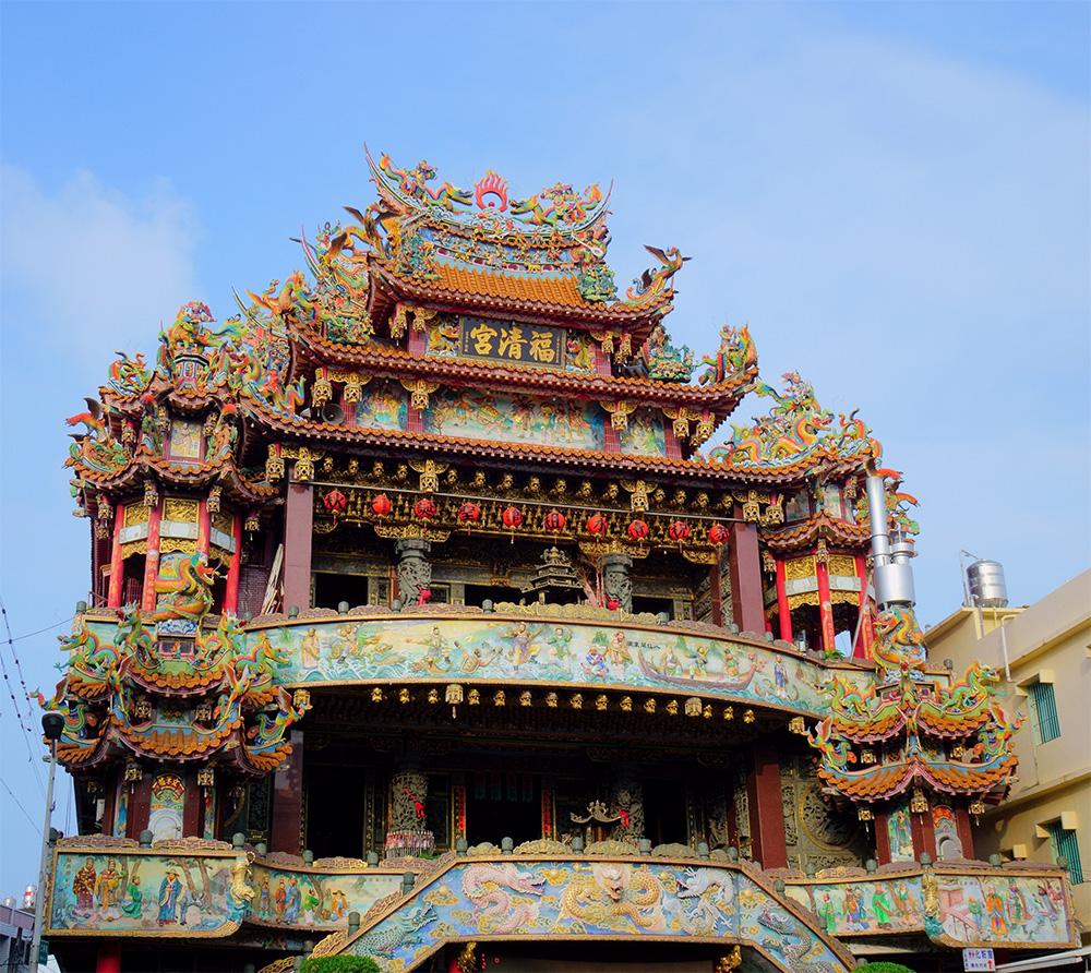 歷史悠久的福清宮。(攝影╱Bill Hwang)