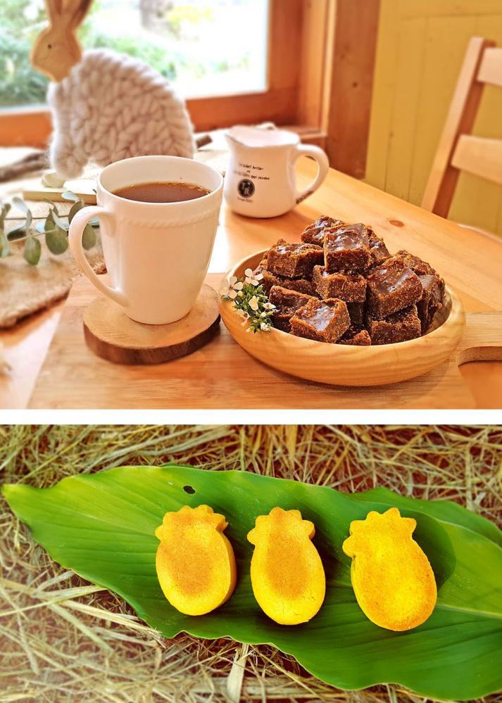 陳湘怡成功研發各式薑與薑黃的產品。(圖片提供/湘湘農坊)