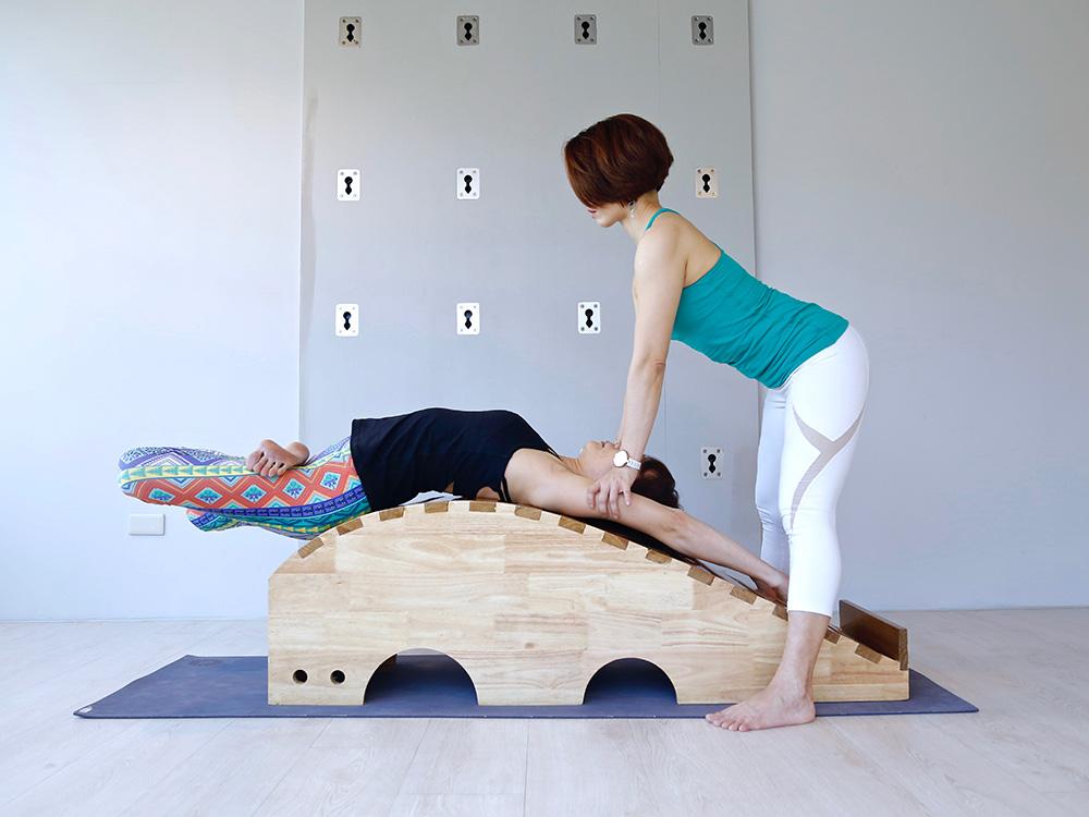 練瑜伽需要自我突破和挑戰。(圖片提供/Shri yoga 完美瑜伽會館)