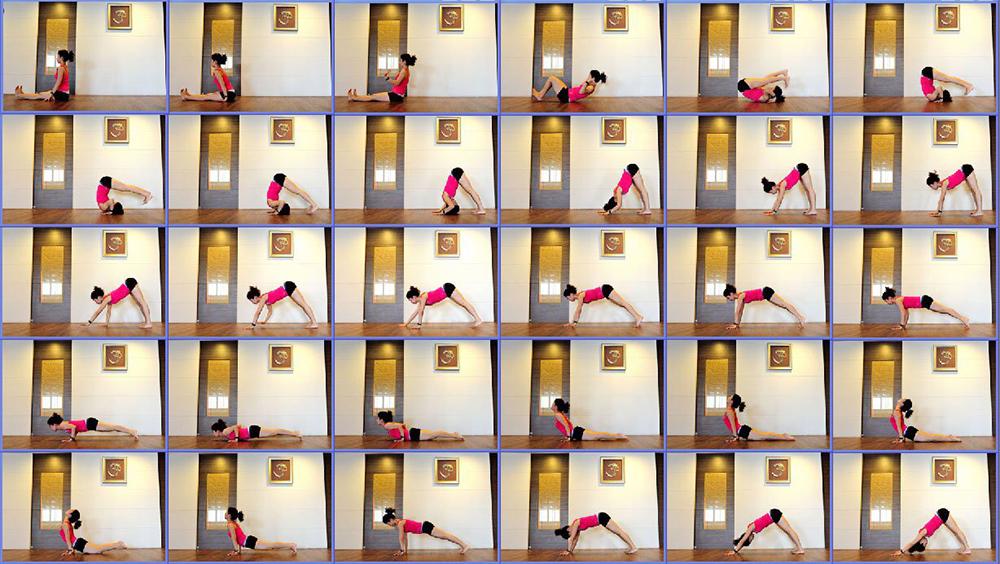 阿斯坦加(Ashtanga)連續體式。(圖片提供/Shri yoga 完美瑜伽會館)