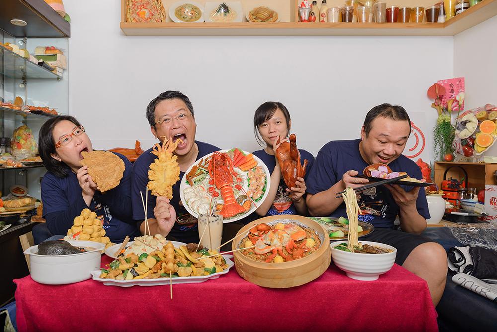 卡固高──展示台灣最美麗的「食之風景」。(圖片提供/台灣卡固高食品模型)