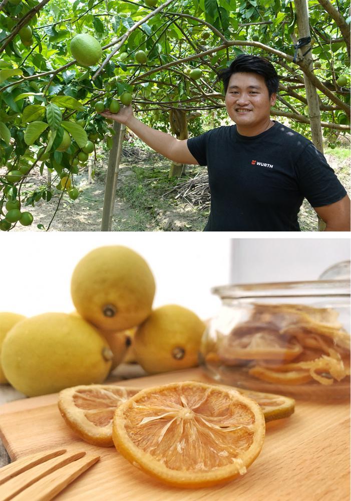 悠綠客推出的手作檸檬乾廣受好評。(上:攝影/quava,下:圖片提供/Eureka悠綠客檸檬)