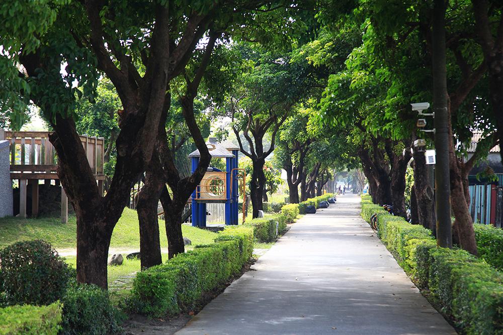 溪寮自行車道也是非常悠閒的散步地圖路線。(攝影/曾信耀)
