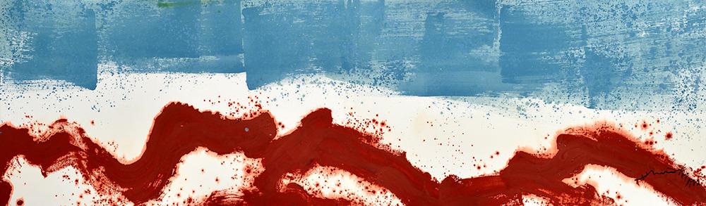 炁之始,1982年作品。(照片提供/蕭勤國際文化藝術基金會)