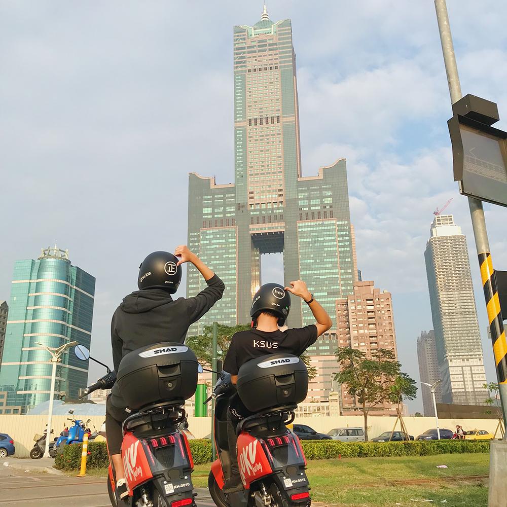 Gokube電動自行車今年加入高雄新型態綠能運具行列,搖身成為漫遊港都新選項。(圖片提供/ Gokube)
