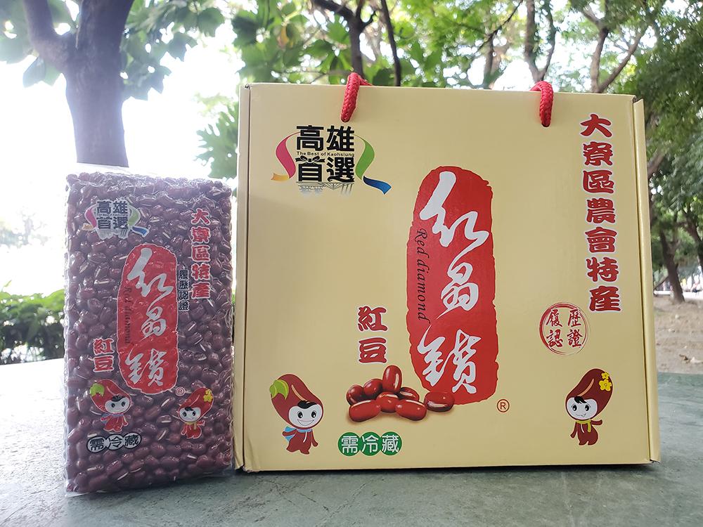 大寮區的紅豆經過生產履歷認證並外銷至他國,足見盛名。(攝影/ Moshi)