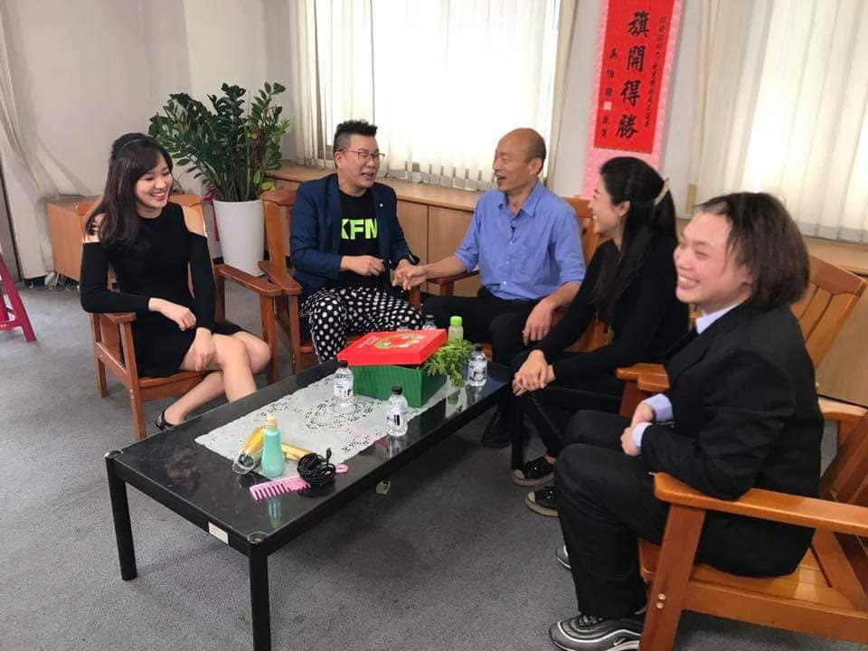 沈玉琳期待未來能有更多的機會到高雄工作,將歡笑帶給當地民眾。(圖片提供/聲仕傳媒工作室)