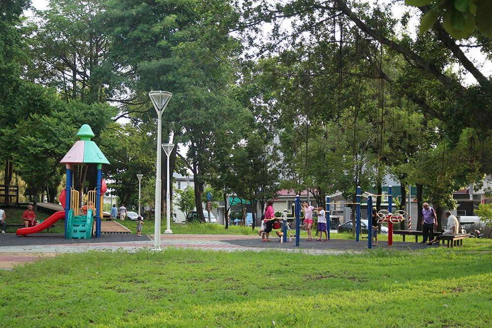 路竹公園。(攝影/吳克威)