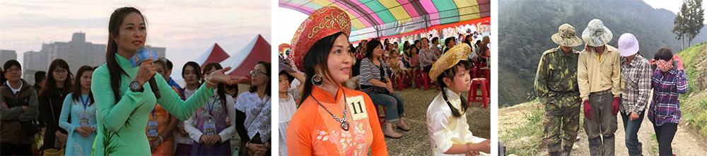 阮金紅希望有更多新住民用紀錄片表達自己的文化。(圖片提供/阮金紅)