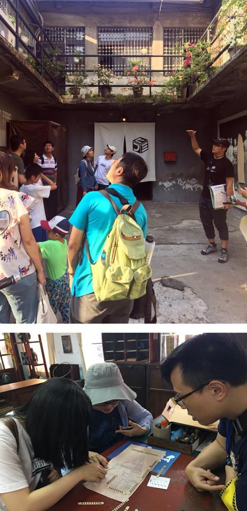 營隊活動由專業的老師導覽哈瑪星文化。(圖片提供/高雄市政府文化局)