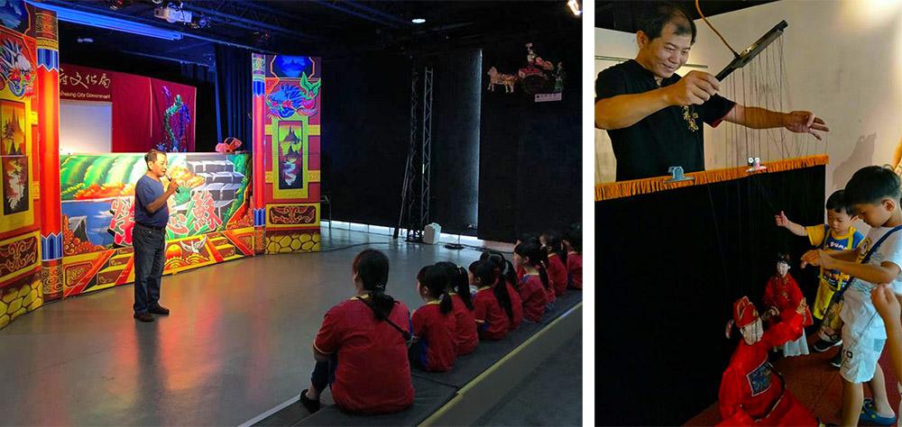 除了展覽,皮影戲館也舉辦許多活動。(圖片提供/高雄市皮影戲館)
