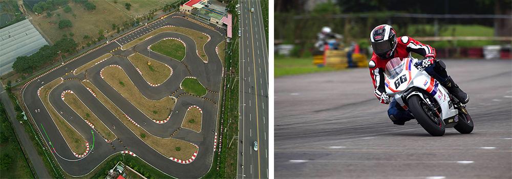 TKS會不定期變化賽道,也提供重機競速。(圖片提供/高雄TKS賽車場)