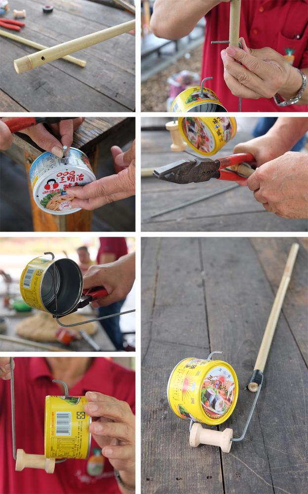 銅管仔車製作過程。(攝影/N̂gChú-jiû黃子柔)