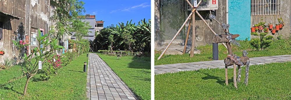 岡山區程香社區的空間改造,豐富了里民生活。(攝影/林喬俐)