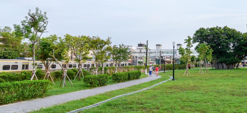 鐵道綠園工程。(攝影/陳十攝影工作室)