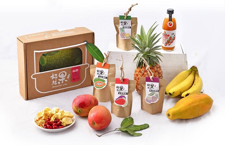 好結果將台灣農產品的最好味道與大家分享。(圖片提供╱一鳴生技農園)