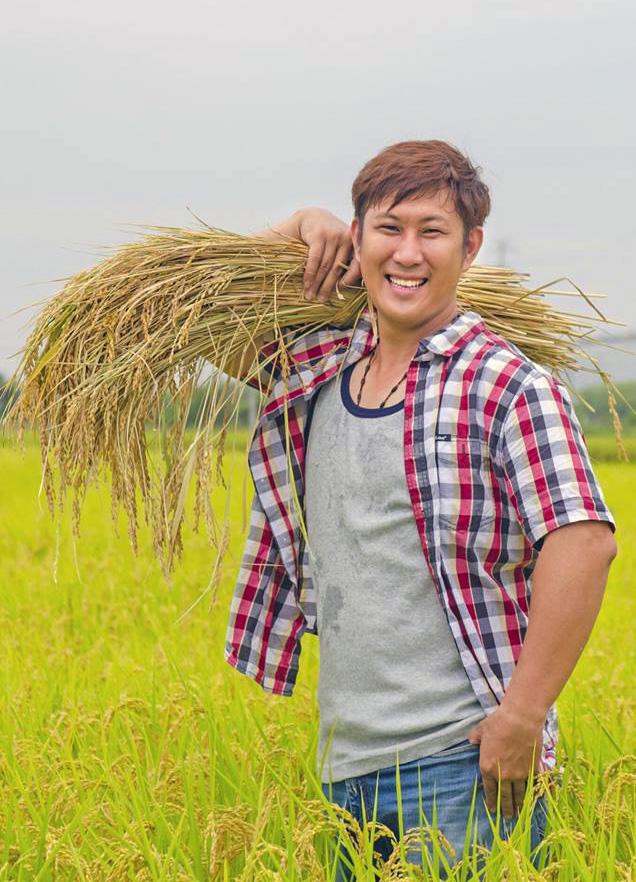 有機稻農陳毅鴻(圖片提供/陳毅鴻)