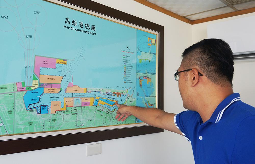 成立高雄第三港區的願景已勾勒眼前。(攝影/孫小龍)