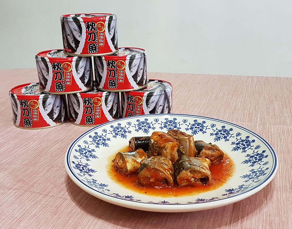 美味的秋刀魚罐頭。(攝影/quava)