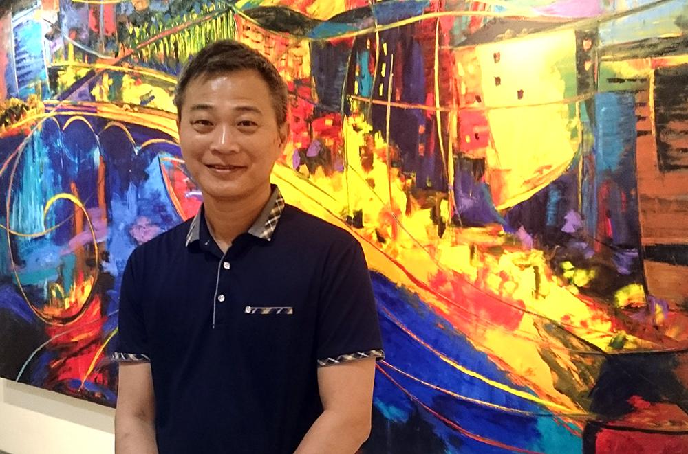 蔡政志老師。(攝影╱林喬俐)