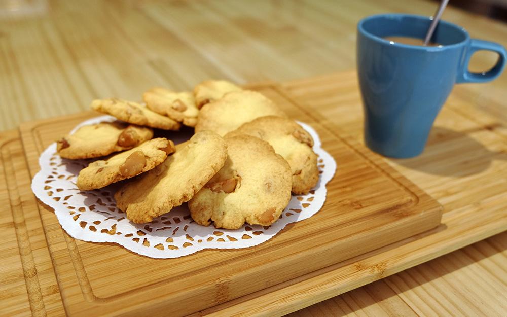 餅乾烤好囉。(攝影/N̂gChú-jiû黃子柔)