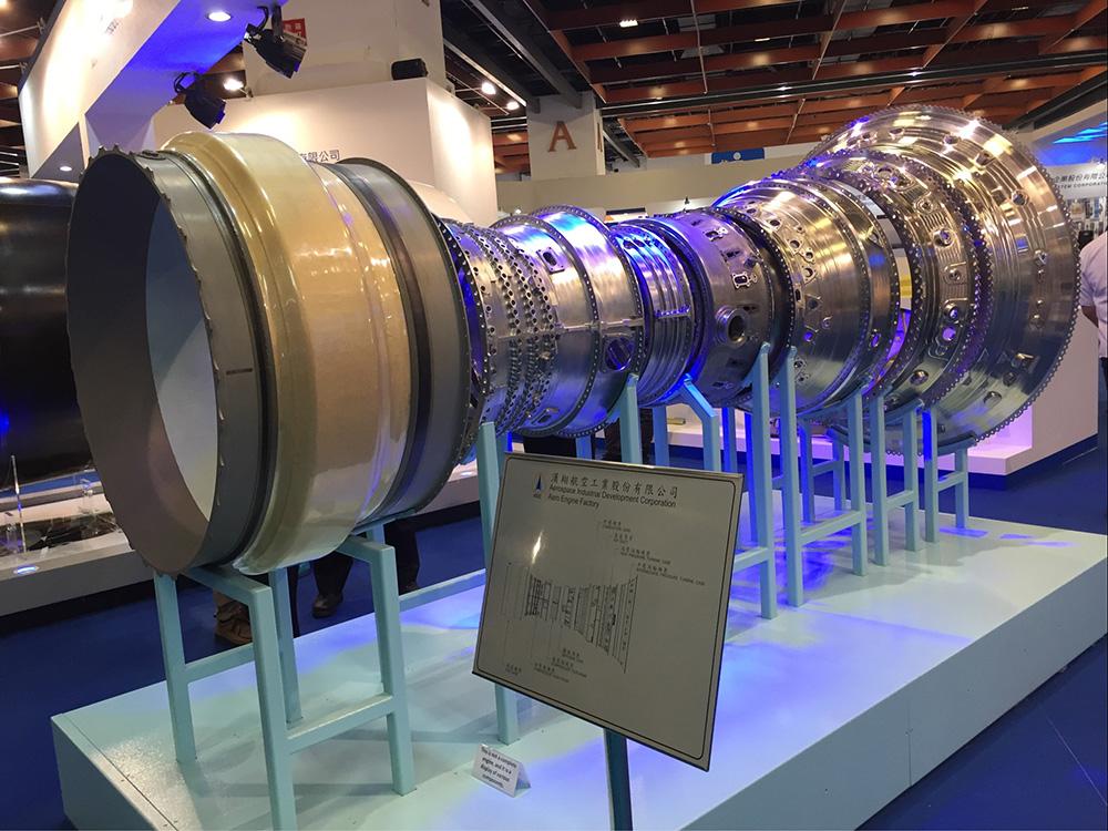 機匣組合(圖片提供╱漢翔航空工業)