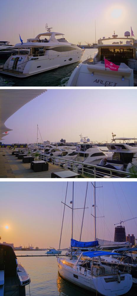 遊艇產業正夯(攝影/Bill Hwang)