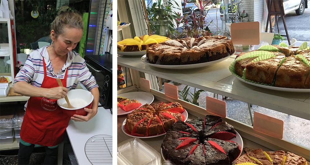 高珍娜和她的吉娜歐風烘焙坊(圖片提供/高珍娜)