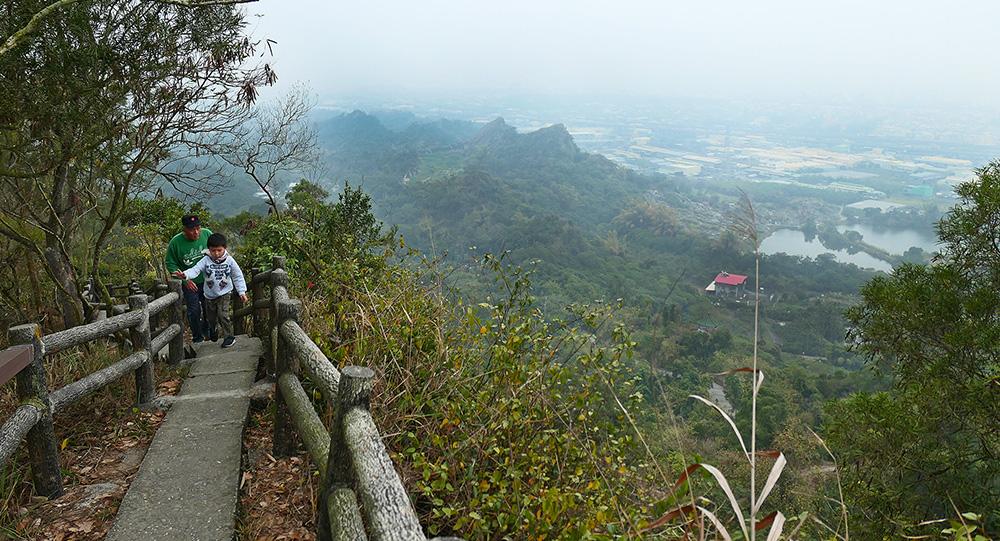 觀音山步道(攝影/謝欣珈)