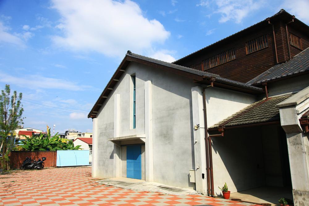 旗山農會碾米廠是日治時期的歷史建築。(攝影/曾信耀)