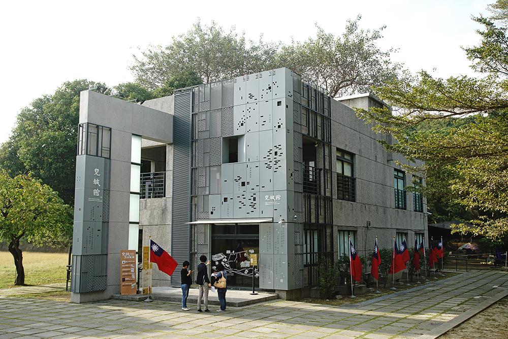 見城館前身為眷村文化館。(攝影/曾信耀)
