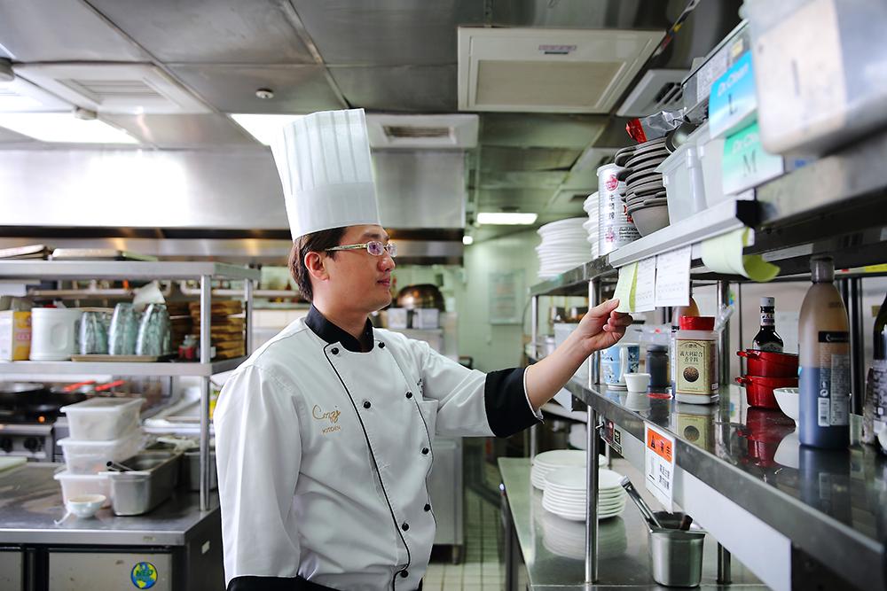 黃鈺城擅長西餐,平時研發的靈感來自於多吃多體驗。(攝影/Cater)