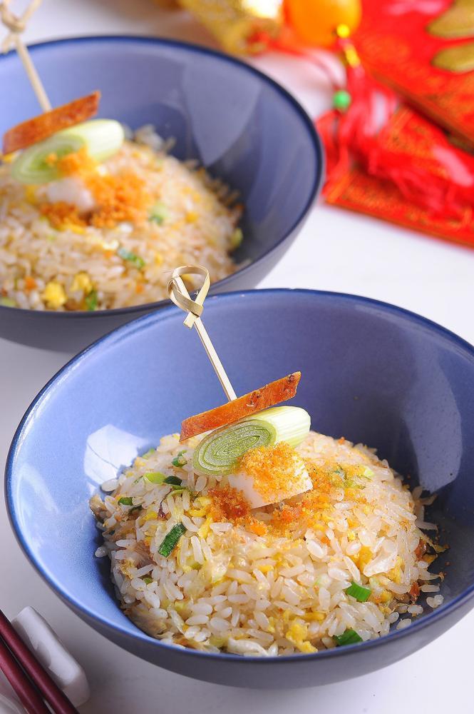 烏魚子炒飯(攝影/潘自強)