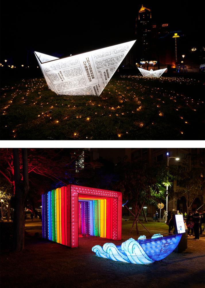 今年的高雄燈會演出充滿藝術風采。(圖片提供/高雄市政府觀光局)